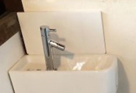 コーナー手洗い設置