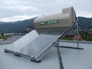 太陽熱を利用した温水器でエコ生活を満喫!