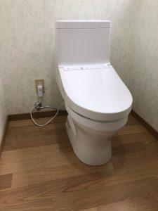 おおい町名田庄のトイレリフォーム